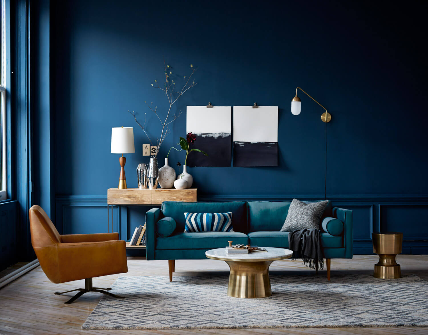 NONAGON-style-n9s-blue-walls-accent-home-decor-design-trends-2017-color-series-west-elm-decorate-blue-paint-sofa-art-decoratives-leather-.jpg